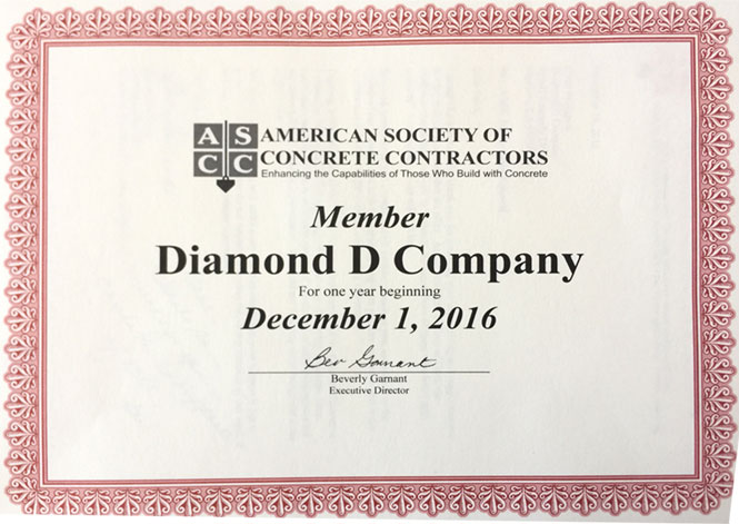 ASCC Certification